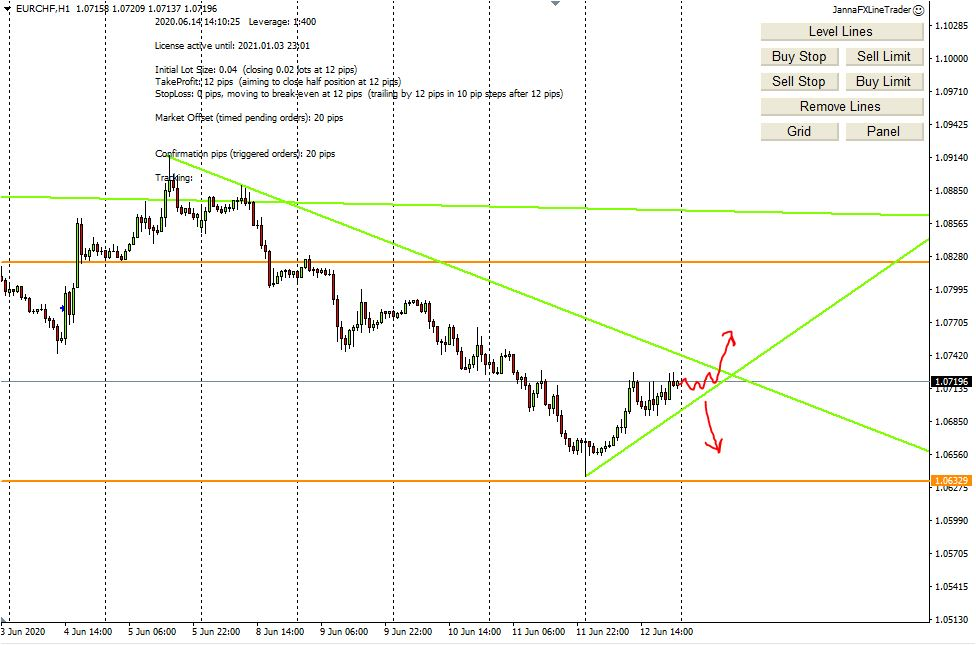 Weekly Forex Analysis, 15th - 19th June 2020, My Trading Plan